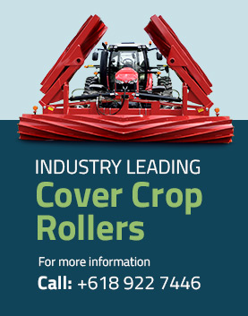 Cover Crop Rollers - Advance Cover Crops