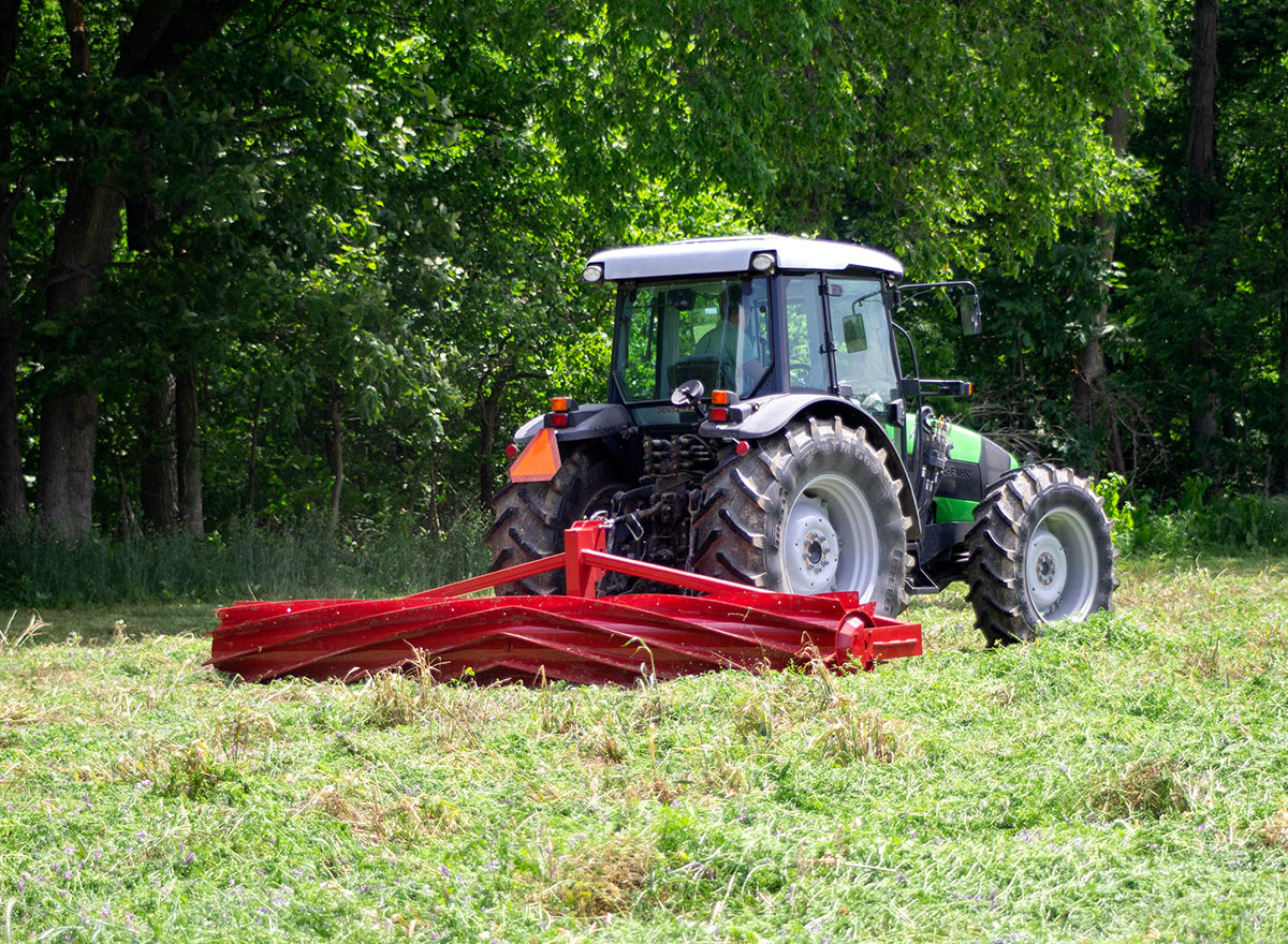 Cover Crop Roller - Advance Cover Crops